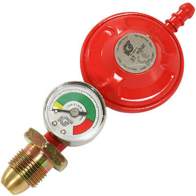 Propane Gas Regulator With Gas Level Gauge - Postage & Packing Included