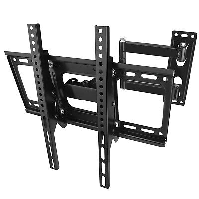"Swing Arm Cantilever TV Bracket Wall Mount Swivel Tilt 26~52"" inch Plasma LCD 3D"