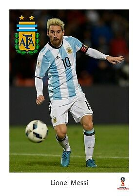 Argentina Messi World Cup 2014 Giant 1 Piece  Wall Art Poster WC118