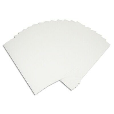 A4 White Light-Colored Iron-On Heat T-Shirt Transfer Paper DIY Pack of 20