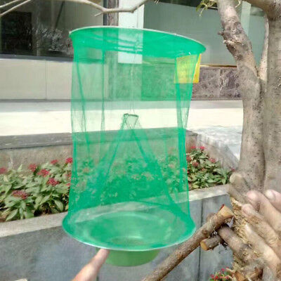 Reusable Pest Control Fly Kill Trap Tools Hanging Fly Catcher Killer Net Cage