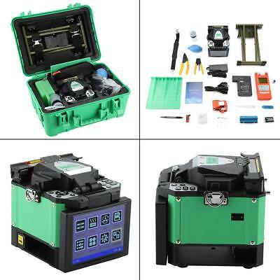 A-80S FTTH Fiber Optic Welding Splicing Machine Optical Fiber Fusion Splicer New