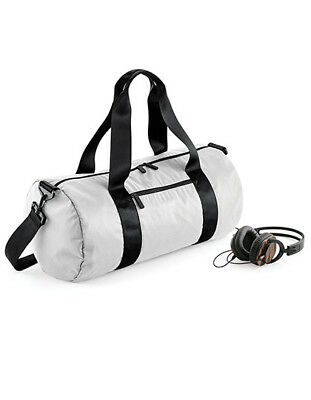 e9345bcc3bed4 BAGBASE SPORTTASCHE TASCHE Studio Barrel Bag Fitness Mikrofaser GYM ...