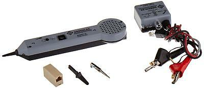 Professional Tone And Probe Tracing Kit With ABN Clips Talk Battery Supply NEW