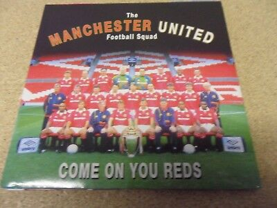 "The Manchester United Football Squad  Come On You Reds  7"" Vinyl"
