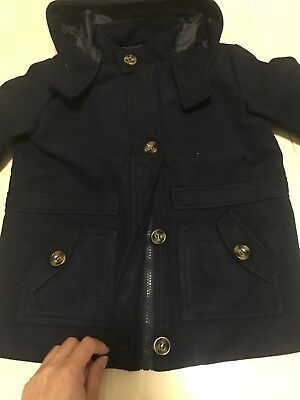 Brand New Kids Boy Winter Coats Jacket For Age 3-5 Years Old Woolen
