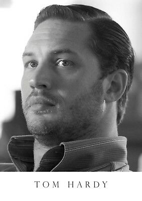 Hollywood legend Tom Hardy poster #8 print A4 297mm x 210mm.