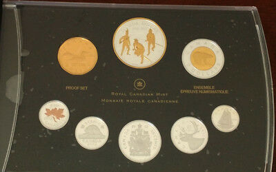 2012 Fine Silver Dollar Proof Set of Canadian Coinage - ALL FINE SILVER COINS