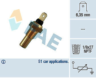 New Fae Coolant Temperature Sensor Gauge 31390 Fit For Ford