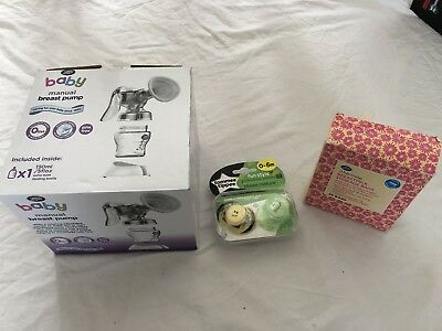 boots manual breast pump new in box  With Extras.