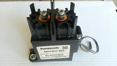 12v High Voltage Electric Vehicle DC Relay by Panasonic AEV14012 M05 400V 120A
