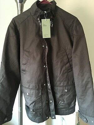 Goodfellow Men's Brown Waxed Field Jacket Size M – NEW with Tags NWT