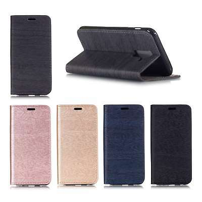Luxury Slim Leather Flip Wallet Magnetic Case Cover For Samsung Huawei Meizu 1+6
