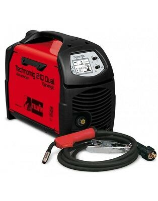 TELWIN WELDING REVERSES WIRED CONTINUOUS 230V model TECHNOMIG 210 DUAL SYNERGIC