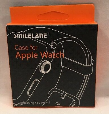 Smilelane Apple Watch Series 1 Case 38mm With Screen Protector.