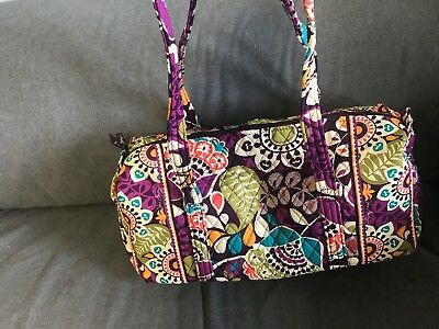 Vera Bradley Plum Crazy Small duffle Bag-new with tags- #10138-137 NEW