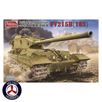 Amusing Hobby 1/35 FV215B(183) British tank Destroyer 35A008 Brand New