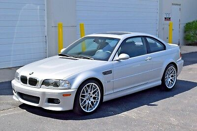 2005 BMW M3 Base Coupe 2-Door 2005 BMW E46 M3 6MT ZCP Competition Package NO RESERVE AUCTION NR