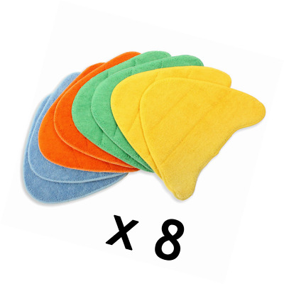 SPARES2GO Washable Cover Pads for VAX S5 S5C S6 S6S S7 S7-A S7-A+ S7-AV Steam Cl