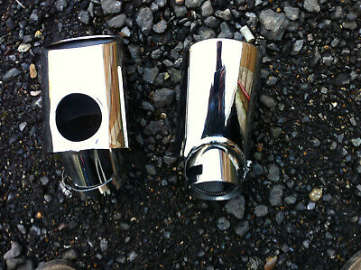 Range Rover Sport Diesel Stainless Steel Oval Exhaust Tail Pipe Tip Finisher