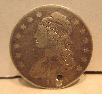 1836 Bust Half Dollar United States 50 Cents Silver Coin