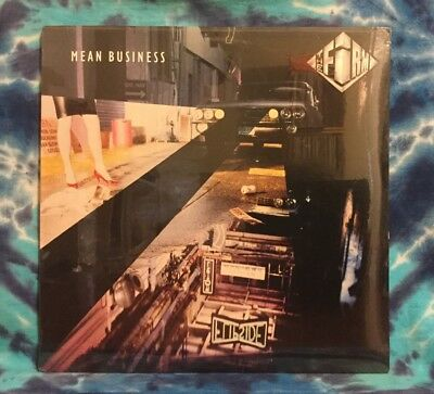 The Firm LP Mean Business STILL FACTORY SEALED (1986 Club Pressing)  JIMMY PAGE