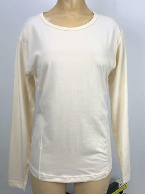 90ddb7681ee9 Duofold Women by Champion Varitherm Base-Layer Long-Sleeve Pearl White XL