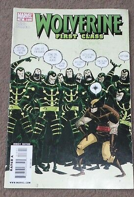 Marvel Wolverine first class 18 comic book collectable direct edition