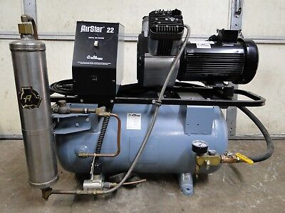 Air Techniques Airstar 22 Dental Air Compressor System 220v 1phase WE SHIP!