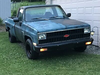 1981 Chevrolet C-10 Custom c10 This is a real solid truck that runs and drives great.