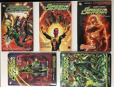 Green Lantern Sinestro Corps War Prelude to Blackest Night Collection HC - VG