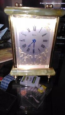 weiss carriage clock