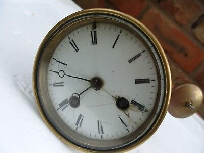 clock parts  FRENCH STRIKING  MOVEMENT MILROY C .M . PARIS