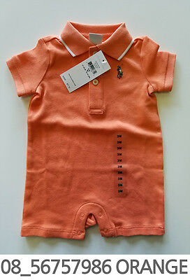 Polo Ralph Lauren Baby Toddler Clothing Creeper 6//9//12 Months New with Tag #38