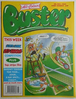 BUSTER COMIC - 4th July 1992