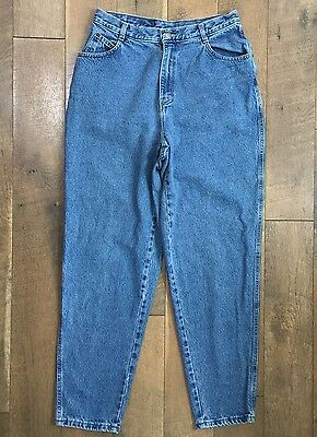 GITANO Vtg 90s Womens MOM JEANS High Waisted Relaxed Tapered Size 14 TALL