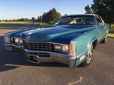 1968 Cadillac Eldorado  Highly Optioned, Very Rare w/ Factory Front Seat Warmer