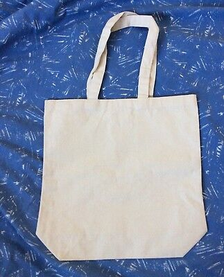 Blank Canvas Tote Bags-Lot Of 10