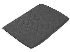 Playette Travel Cot Quilted Sheet Charcoal