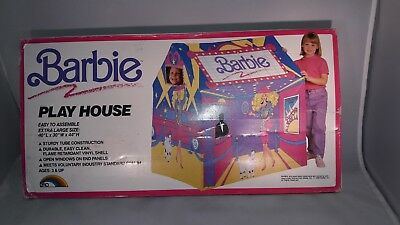 Vintage Barbie tent playhouse RARE NEW collectible RARE ERO house CHILD size