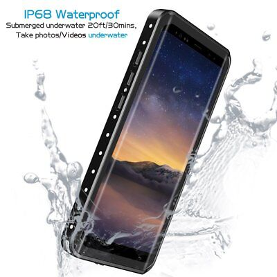 size 40 ff7fe 5bd77 NOTE 8 WATERPROOF Case Support Wireless Charging For Samsung Galaxy Note 8  Black