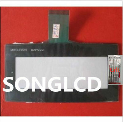 NEW FOR Mitsubishi Protective Film and touch glass GT1020-LBL-C