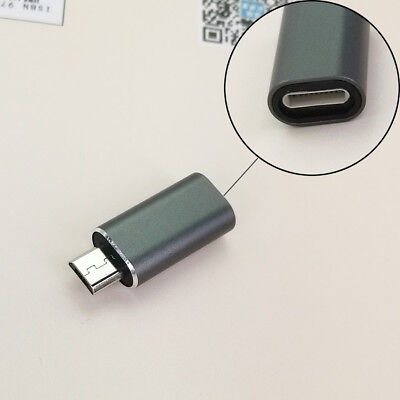 Aluminium Alloy Converter Connector Lightning to Micro USB Data&Charge Adapter J