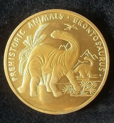 2007 Korea, 20 Won, Brontosaurus, Fauna, Prehistoric Animals, Proof, Scarce !!