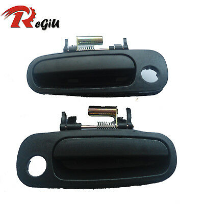 Fit Toyota Corolla 98-02 Exterior Outside Front Left Right Side Door Handle NEW