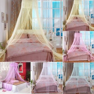 Canopy Bed Curtain White Netting Dome Fly Mosquito Net Insect Stopping Ourdoor