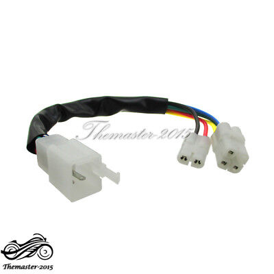 GY6 CDI Cable Wire Adapter Connector Plug Pit Dirt Bike ATV Quad Scooter Moped