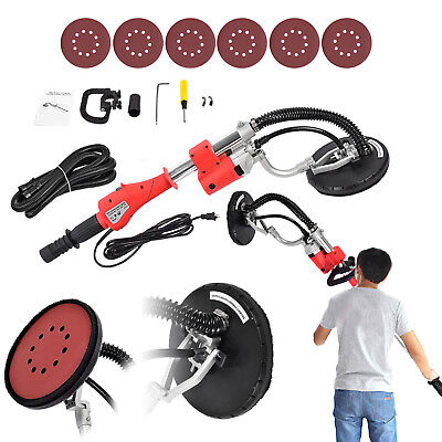 New Drywall Sander 600w Electric Adjustable Variable Speed Drywall Sanding  Red