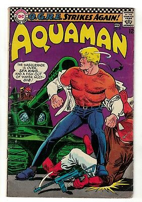 DC Comics AQUAMAN  31  SILVER AGE league VGF 5.0  nick cardy bob haney