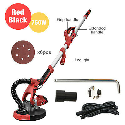 750W Drywall Sander Electric Variable Adjustable Speed Sanding+LED Light New